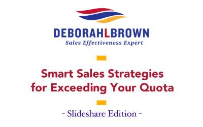 Smart Sales Strategies for Exceeding Your Quota