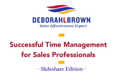 Successful Time Management For Sales Professionals