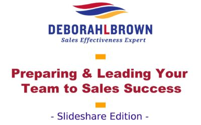 Preparing & Leading Your Team to Sales Success