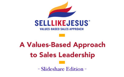 A Values Based Approach To Sales Leadership